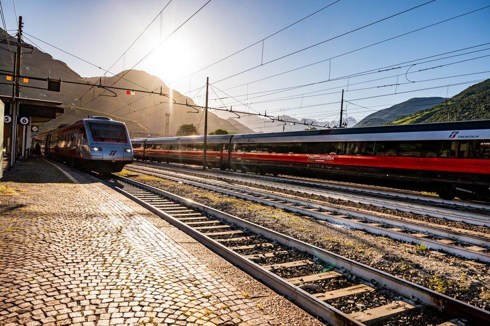 In treno verso Bressanone