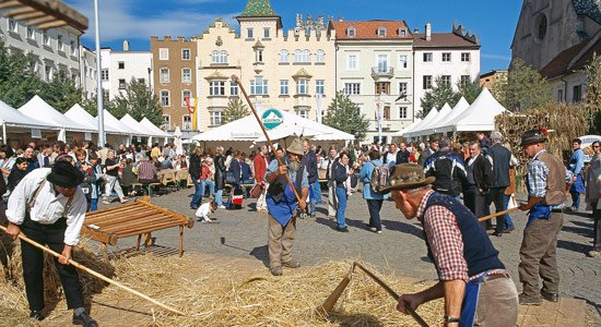 South Tyrolean bread and strudel market - September