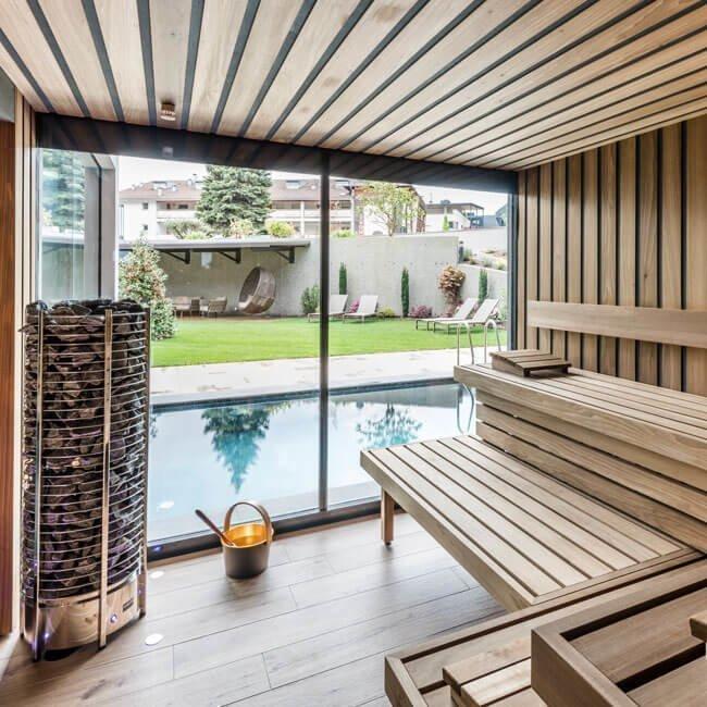 Textile sauna